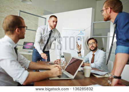 Business debating