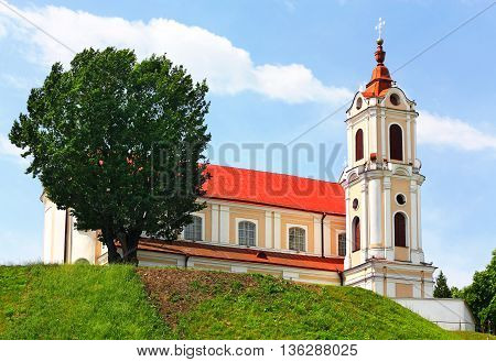 Catholic Church of the of the late seveneenth century made in the Baroque style