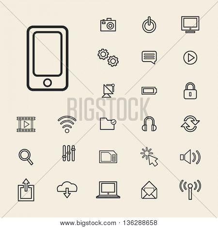 Vector Illustration UI Technology Icon Concept
