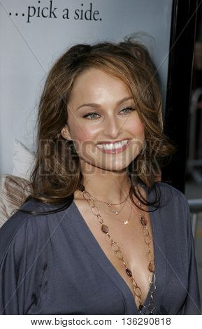 Giada De Laurentiis at the World premiere of 'The Break-Up' held at the Mann Village Theatre in Westwood,  USA on May 22, 2006.