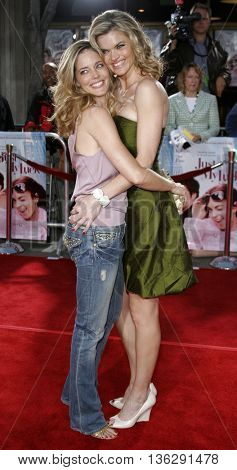 Christina Moore and Missi Pyle at the Los Angeles premiere of 'Just My Luck' held at the Mann National Theater in Westwood, USA on May 9, 2006.