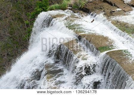Ithaca Falls, New York, USA