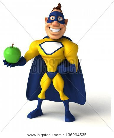 Fun superhero
