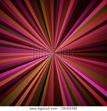 art abstract graphic spherical blurred colored background in fuchsia, pink, violet and gold colors; geometric pattern