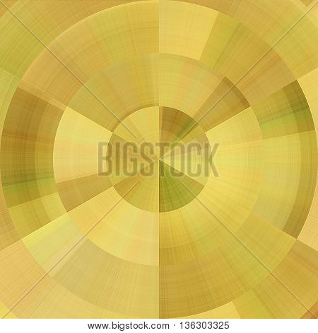 art abstract graphic spherical monochrome grunge background in light and old gold colors; geometric pattern