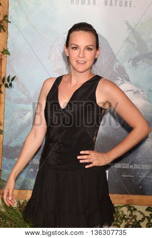 LOS ANGELES - JUN 27:  Carla Gallo at The Legend Of Tarzan Premiere at the Dolby Theater on June 27, 2016 in Los Angeles, CA