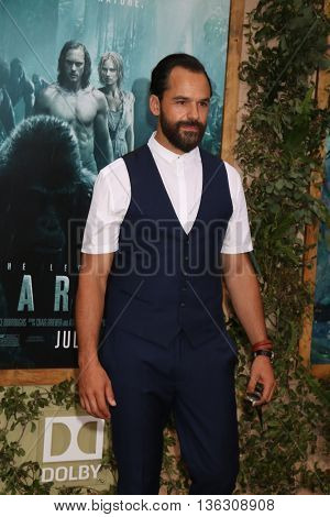LOS ANGELES - JUN 27:  Casper Crump at The Legend Of Tarzan Premiere at the Dolby Theater on June 27, 2016 in Los Angeles, CA