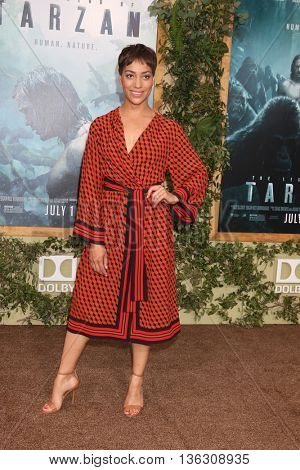 LOS ANGELES - JUN 27:  Cush Jumbo at The Legend Of Tarzan Premiere at the Dolby Theater on June 27, 2016 in Los Angeles, CA