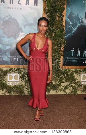 LOS ANGELES - JUN 27:  Jazmyn Simon at The Legend Of Tarzan Premiere at the Dolby Theater on June 27, 2016 in Los Angeles, CA