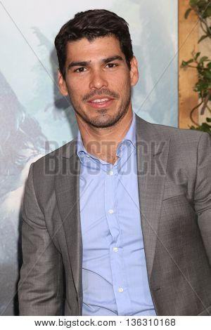 LOS ANGELES - JUN 27:  Raul Castillo at The Legend Of Tarzan Premiere at the Dolby Theater on June 27, 2016 in Los Angeles, CA