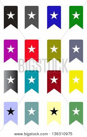 bookmark icon symbol bookmark dictionary banner,vector book
