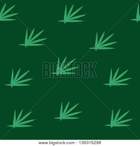 Grass green seamless pattern. Fashion graphic background design. Modern stylish abstract colorful texture. Template for prints textiles wrapping wallpaper website etc VECTOR illustration