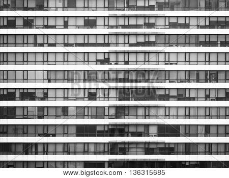 Architecture detail Modern Window void Pattern exterior Black and white
