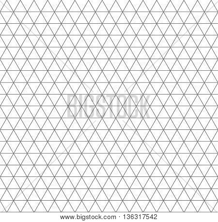 seamless triangle geometric pattern background. Stock vector illustration