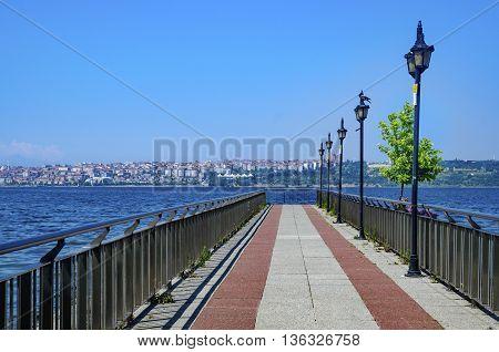 Lake Kucukcekmece (Turkish: Kucukcekmece Golu) is a lagoon located between the Kucukcekmece Esenyurt and Avcilar districts of the European portion of Istanbul Province northwestern Turkey.