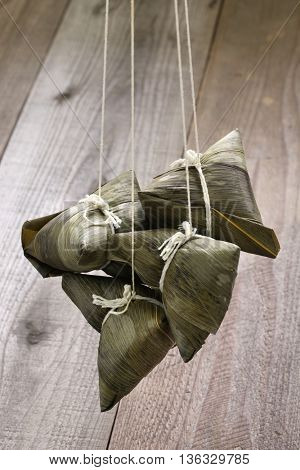 zongzi, chinese rice dumpling, dragon boat festival food