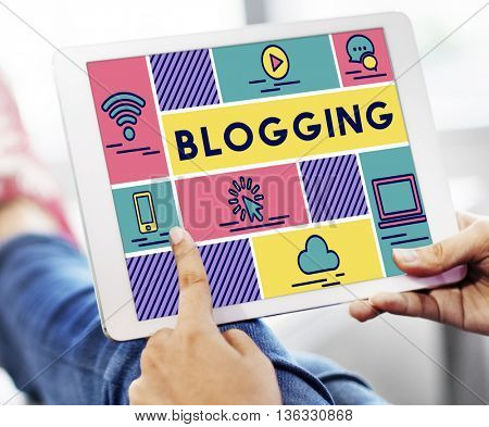Blogging Internet Online Connection Message Concept