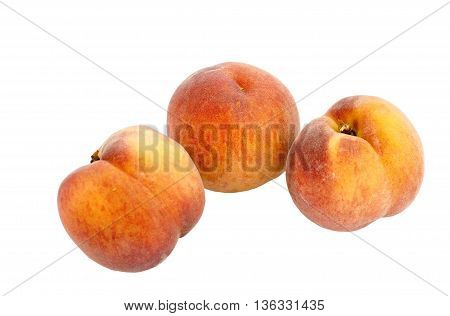 Large juicy peaches. Useful dietary and vegetarian food. The gifts of nature vitamin. Peaches are delicate and fresh.