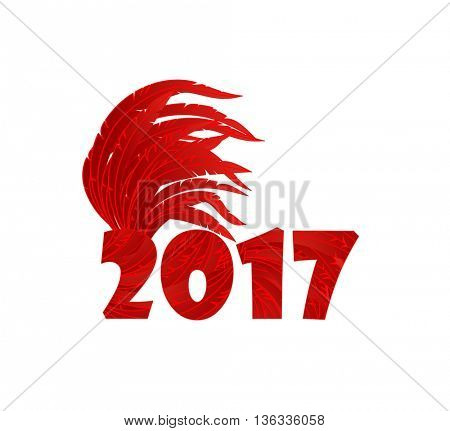 Greeting for 2017 New year