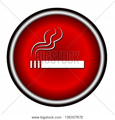 smoke icon great for any use on white background