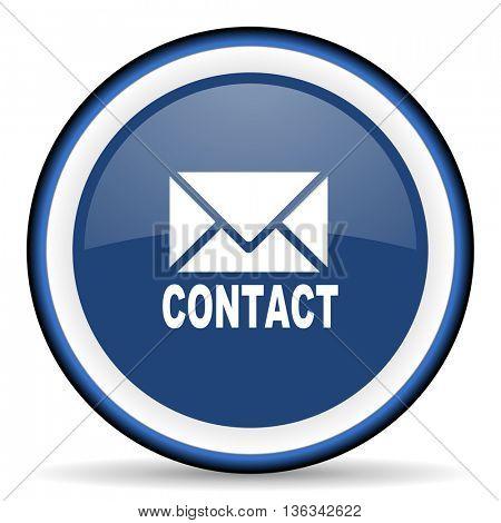 email round glossy icon, modern design web element