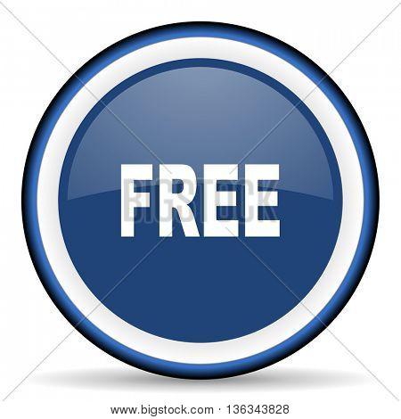 free round glossy icon, modern design web element