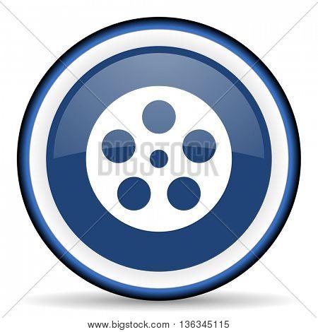 film round glossy icon, modern design web element