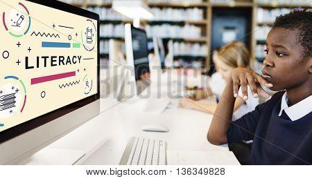 Litreacy Training Schooling Study University Concept