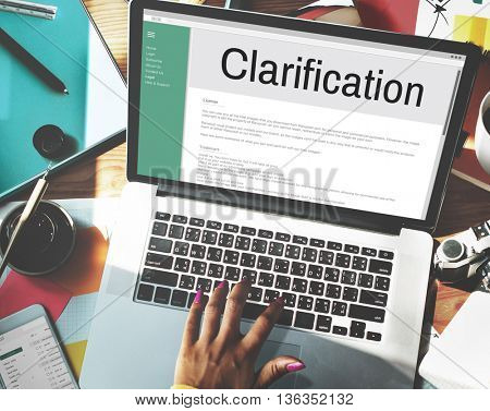 Clarification Determination Explanation Question Concept