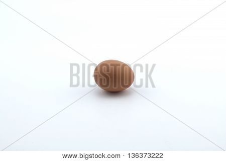 Small Egg isolated in a white background