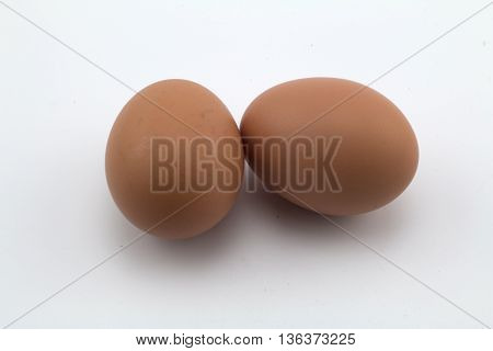 Eggs isolated in a white background , Eggs on a white