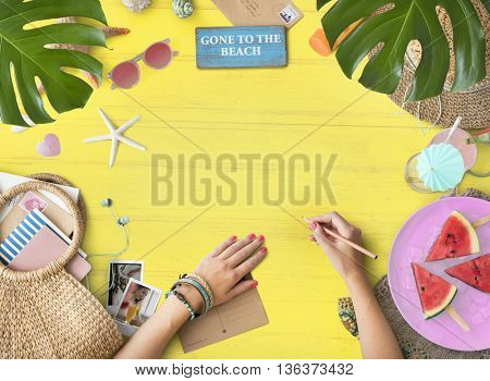 Vacation Holiday Travel Trip Leisure Journey Concept