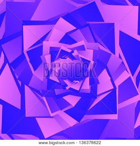Colorful Bright Texture-pattern With Overlapping Squares. Background With Asymmetric Geometry.