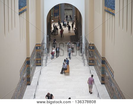 Pergamon Museum In Berlin