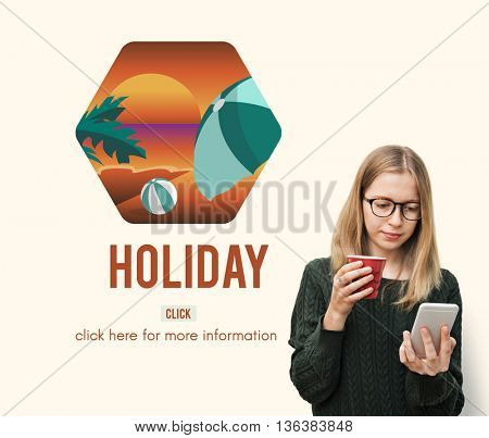 Holiday Vacation Leisure Travel Trip Concept