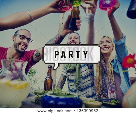 Party Celebrate Entertainment Festival Holiday Concept