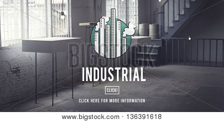 Industrial Organization Factory Structure Development Construction Concept