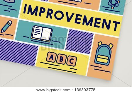 Improvement Advance Motivation Potential Education Concept