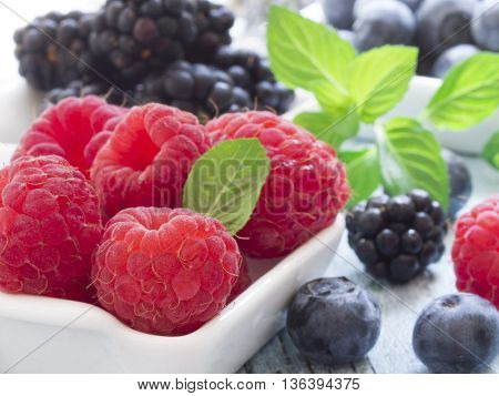 berry fruit,, fresh on the table