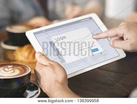 Browsing Digital Tablet Concept