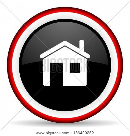 house round glossy icon, modern design web element