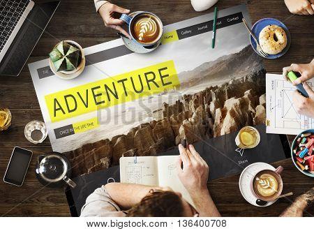 Adventure Exploration Journey Destination Wanderlust Concept