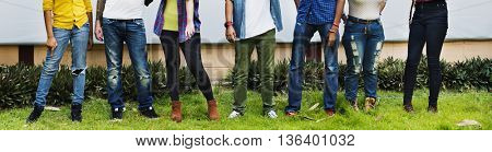 People Friendship Relationship Team Togetherness Concept