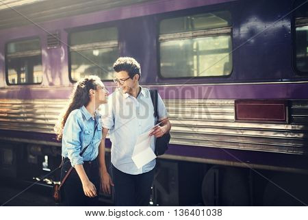 Couple Love Dating Togetherness Happiness Concept