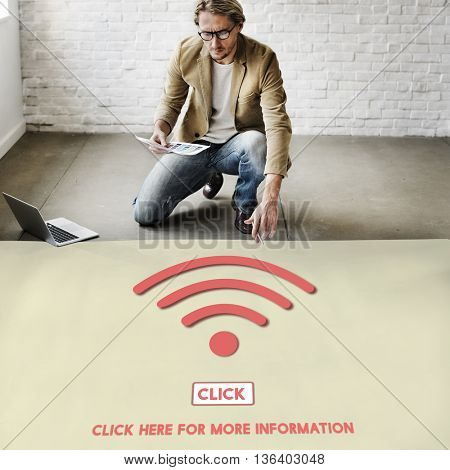 Wireless Wifi Technology Online Connect Concept