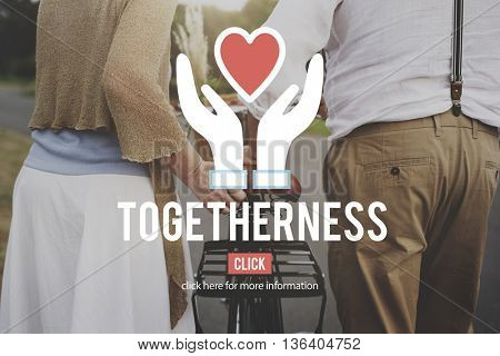 Togetherness Charity Team Teamwork Service Concept