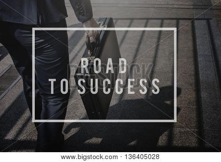 Business Achievement Success Process Procedures Concept