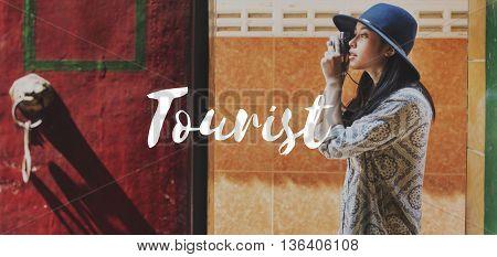 Tourist Travel Explore Life Graphic Concept