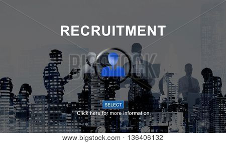 Recruitment Headhunting Employment Job Concept