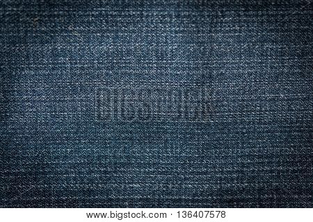 Close up of blue jeans Blue Jeans texture